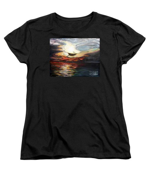 What Dreams May Come.. Women's T-Shirt (Standard Cut) by Jolanta Anna Karolska