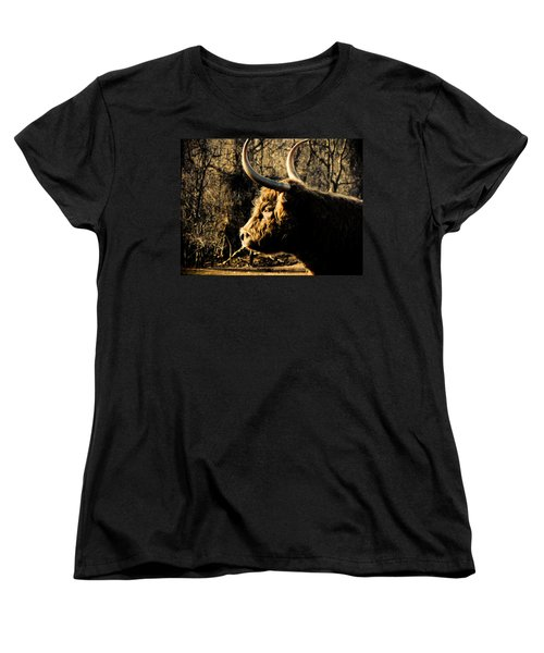 Wildthings Women's T-Shirt (Standard Cut) by Jessica Brawley
