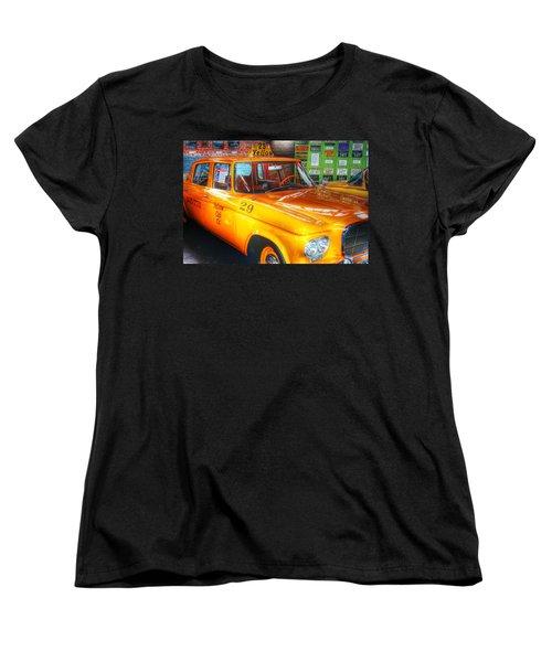 Yellow Cab No.29 Women's T-Shirt (Standard Cut) by Dan Stone