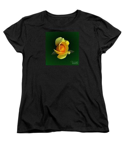 Yellow Rose Women's T-Shirt (Standard Cut)