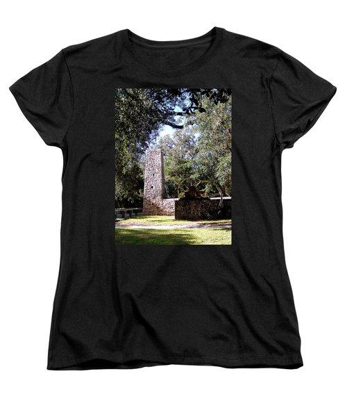 Yulee Sugarmill 1 Women's T-Shirt (Standard Cut) by Judy Wanamaker