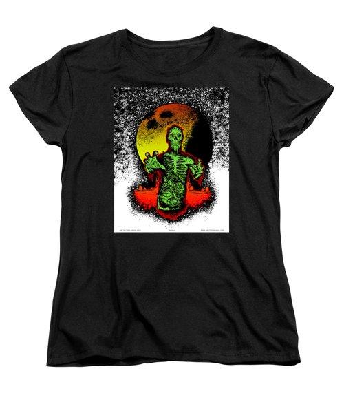Zombie Women's T-Shirt (Standard Cut) by Tony Koehl