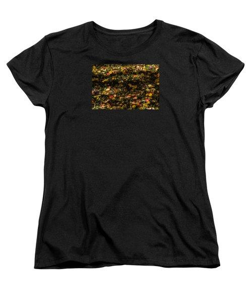 Autumn's Mosaic Women's T-Shirt (Standard Cut) by Alana Thrower