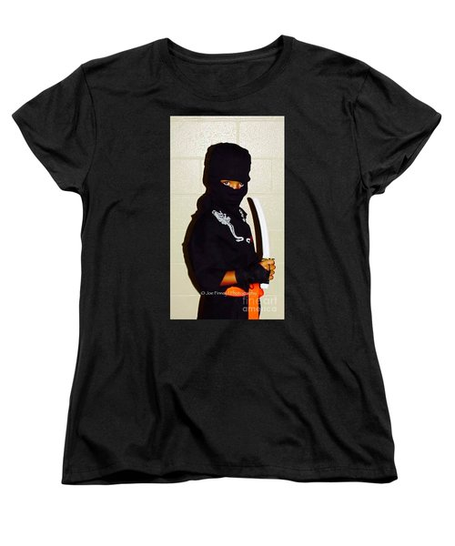 Women's T-Shirt (Standard Cut) featuring the photograph  Little Ninja - No.1998 by Joe Finney
