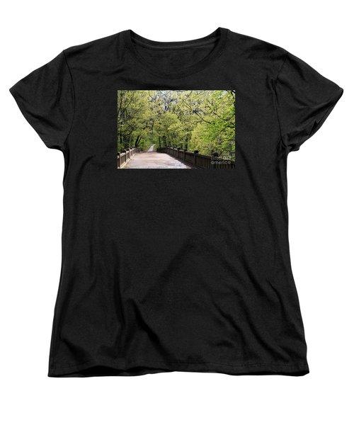Matthiessen State Park In Spring Women's T-Shirt (Standard Cut)