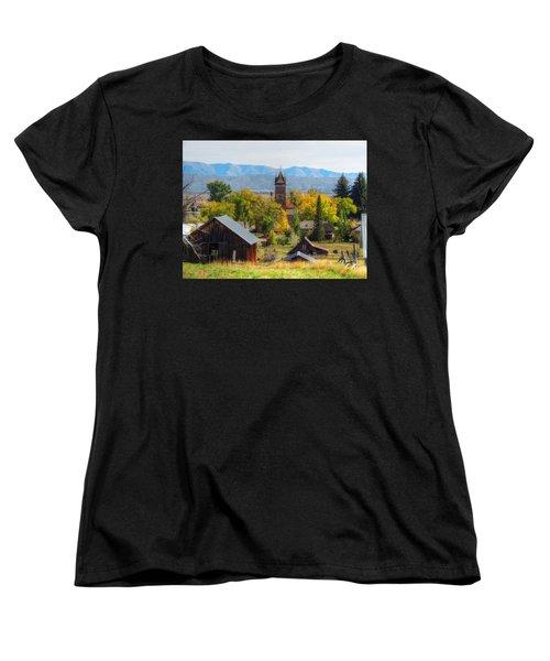 Montpelier Women's T-Shirt (Standard Cut) by Charlotte Schafer