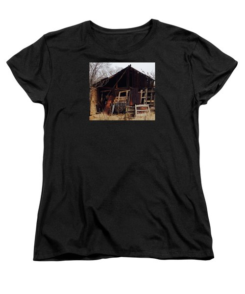Barn Women's T-Shirt (Standard Cut) by Erika Chamberlin