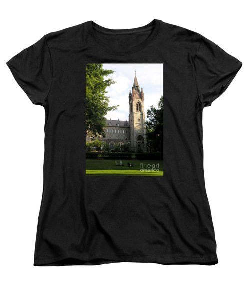 University Center - Lehigh University Women's T-Shirt (Standard Cut) by Jacqueline M Lewis
