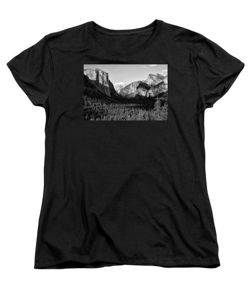 Valley Of Inspiration Women's T-Shirt (Standard Cut) by Jason Abando