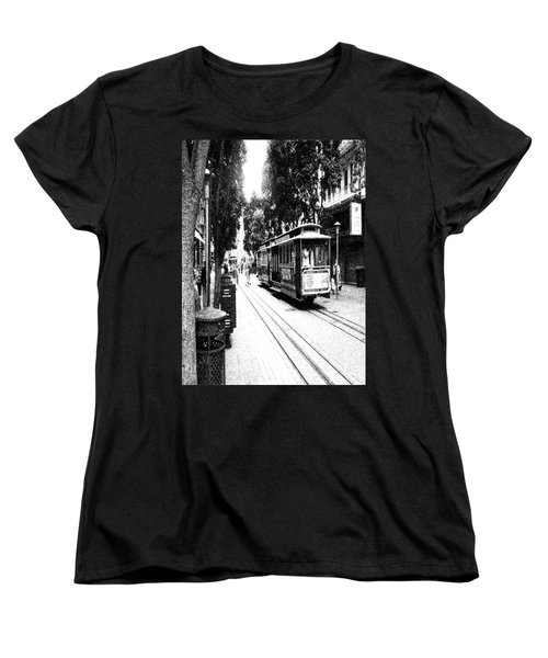021016 San Francisco Trolly Women's T-Shirt (Standard Cut) by Garland Oldham