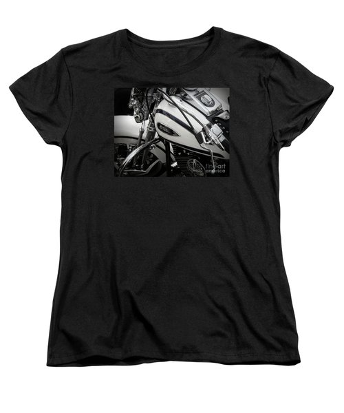 1 - Harley Davidson Series  Women's T-Shirt (Standard Cut) by Lainie Wrightson