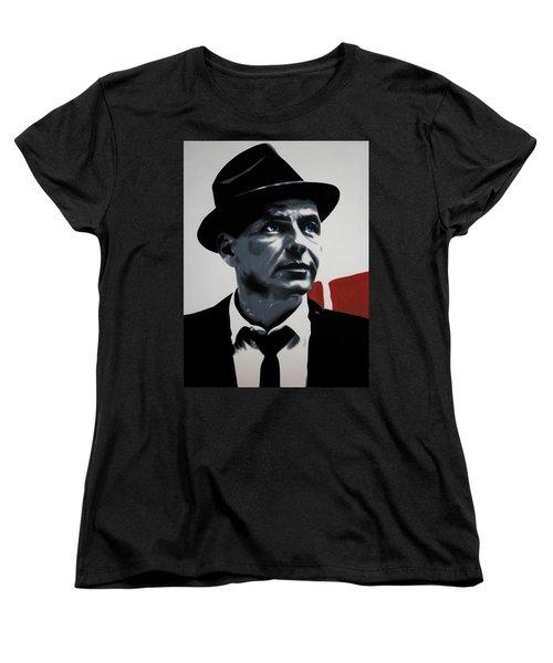 - Sinatra - Women's T-Shirt (Standard Cut) by Luis Ludzska