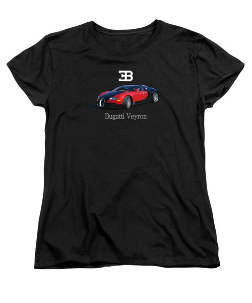 2010 Bugatti Veyron Women's T-Shirt (Standard Cut) by Jack Pumphrey