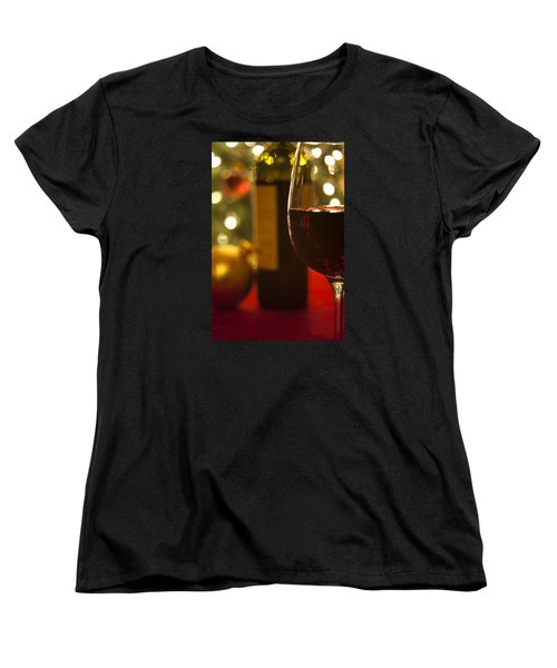 A Drink By The Tree Women's T-Shirt (Standard Cut) by Andrew Soundarajan