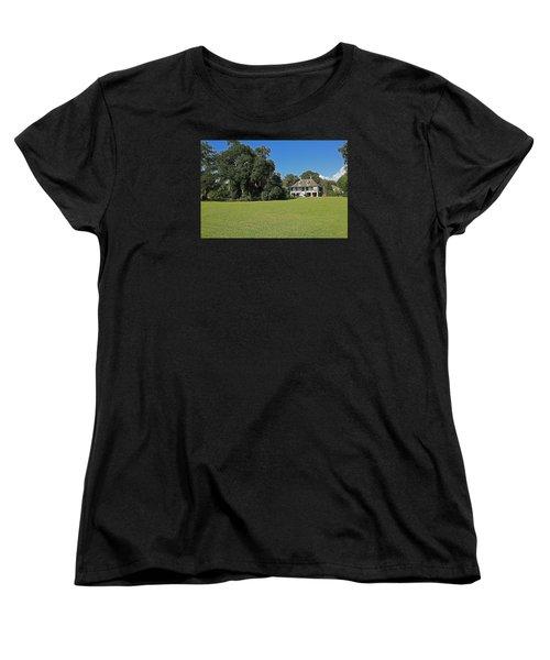 Antibellum Home Women's T-Shirt (Standard Cut) by Ronald Olivier