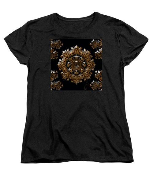 Women's T-Shirt (Standard Cut) featuring the digital art April's Fool by Robert Orinski