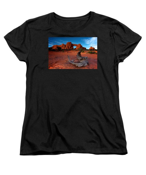 Women's T-Shirt (Standard Cut) featuring the photograph Arches by Evgeny Vasenev