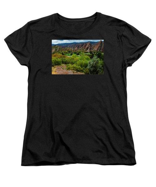 Women's T-Shirt (Standard Cut) featuring the photograph Arrowhead by Kristal Kraft
