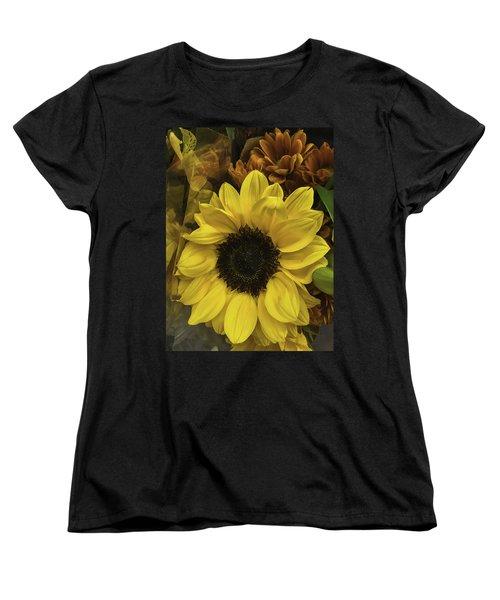 Bright Bouquet Women's T-Shirt (Standard Cut) by Arlene Carmel