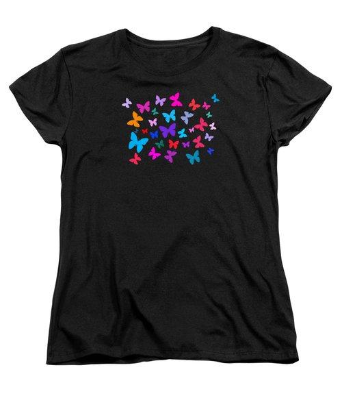 Butterflies Women's T-Shirt (Standard Cut)