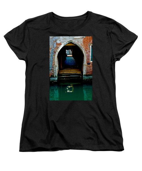 Canal Entrance Women's T-Shirt (Standard Cut) by Harry Spitz