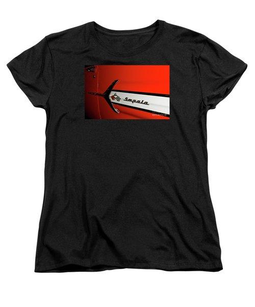 Chevy Impala Women's T-Shirt (Standard Cut) by Pamela Walrath