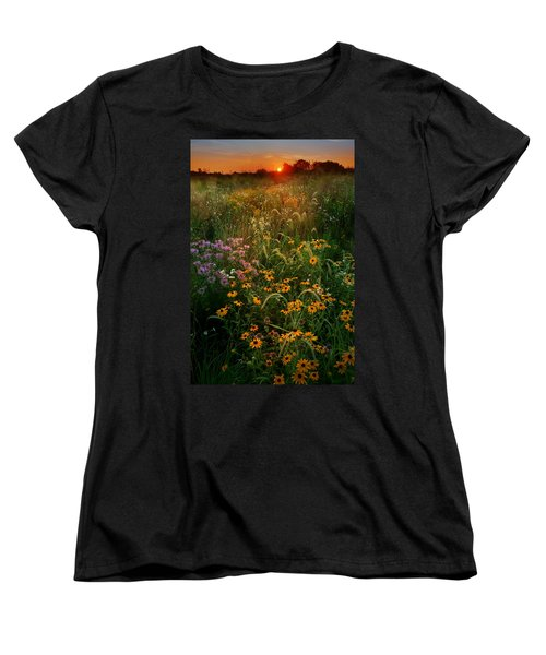 Colors Of Summer Women's T-Shirt (Standard Cut) by Rob Blair