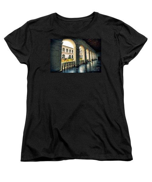 Corridor Women's T-Shirt (Standard Cut) by Charuhas Images