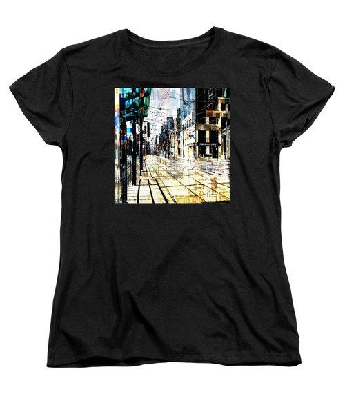 Crossing Spadina Women's T-Shirt (Standard Cut) by Nicky Jameson