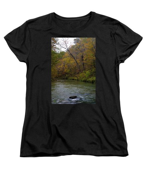 Current River 8 Women's T-Shirt (Standard Cut) by Marty Koch