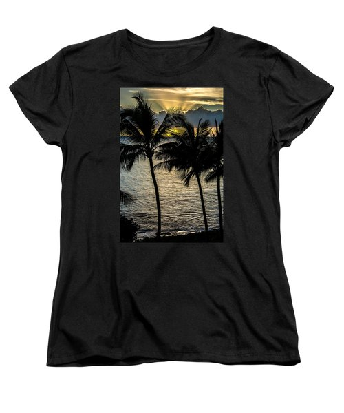 Day Is Done Women's T-Shirt (Standard Cut) by Colleen Coccia