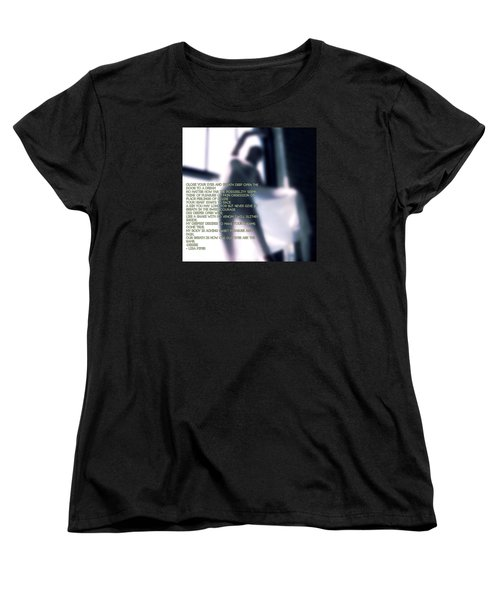 Women's T-Shirt (Standard Cut) featuring the photograph Desire by Lisa Piper