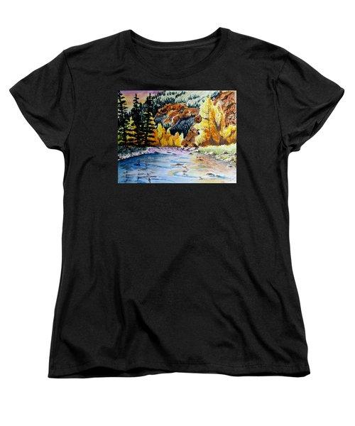East Clear Creek Women's T-Shirt (Standard Cut) by Jimmy Smith
