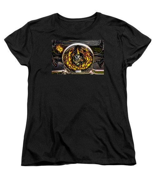 Evil Ways Women's T-Shirt (Standard Cut) by Jerry Golab