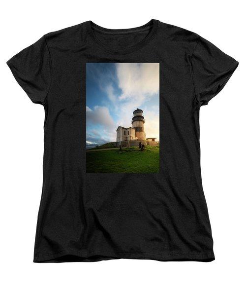 Women's T-Shirt (Standard Cut) featuring the photograph First Light by Ryan Manuel