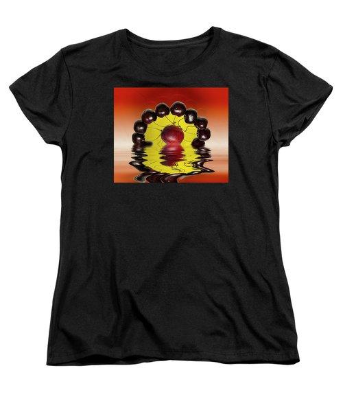 Fresh Cherries And Plums Women's T-Shirt (Standard Cut)