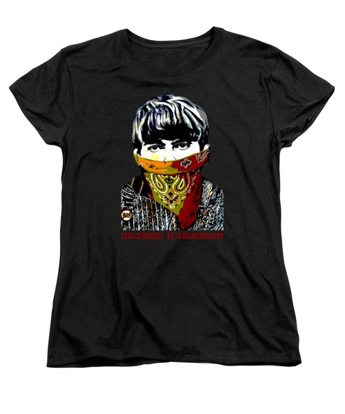 George Harrison Women's T-Shirt (Standard Cut) by RicardMN Photography