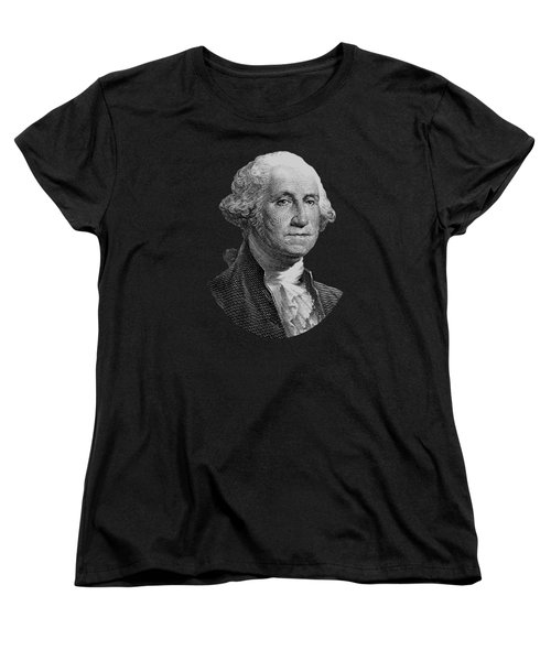George Washington  Women's T-Shirt (Standard Cut) by War Is Hell Store