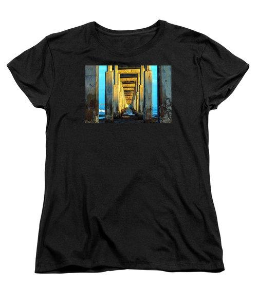 Golden Morning Women's T-Shirt (Standard Cut) by Joseph S Giacalone