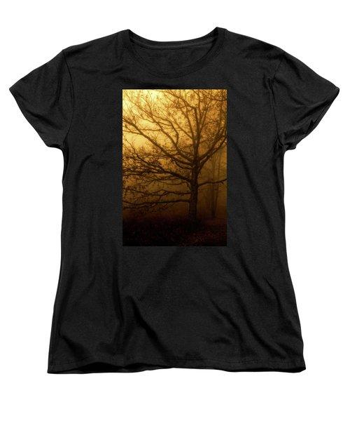 Hazy Daze Women's T-Shirt (Standard Cut) by Deborah Scannell