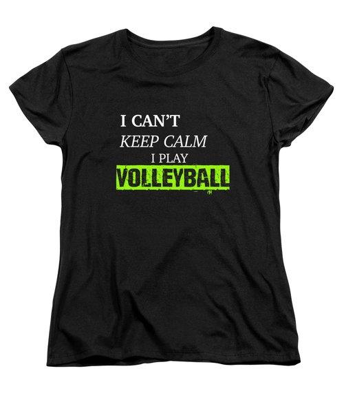 I Play Volleyball Women's T-Shirt (Standard Cut) by Meli Mel