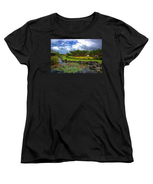In Bali Women's T-Shirt (Standard Cut) by Charuhas Images