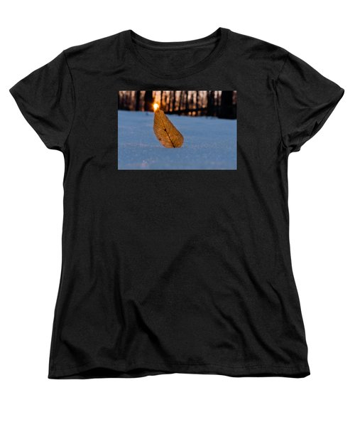 Its The Small Things Women's T-Shirt (Standard Cut) by Craig Szymanski