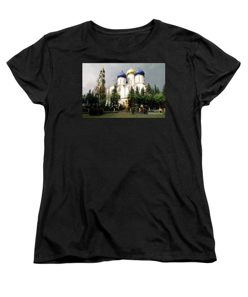 Jesus, Trinity Lavra Of St. Sergius Monastery Sergiev Posad Women's T-Shirt (Standard Cut) by Wernher Krutein