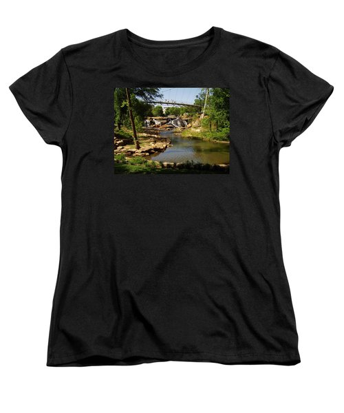 Liberty Bridge Women's T-Shirt (Standard Cut) by Flavia Westerwelle