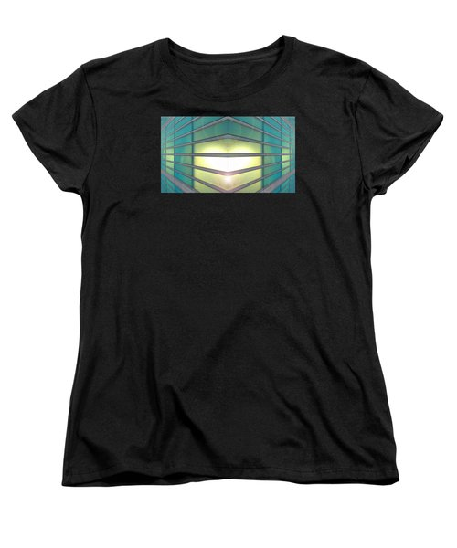 Women's T-Shirt (Standard Cut) featuring the photograph Luminous Corner by John Norman Stewart