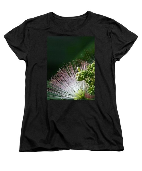 Women's T-Shirt (Standard Cut) featuring the photograph Mimosa Whiskers by John Glass