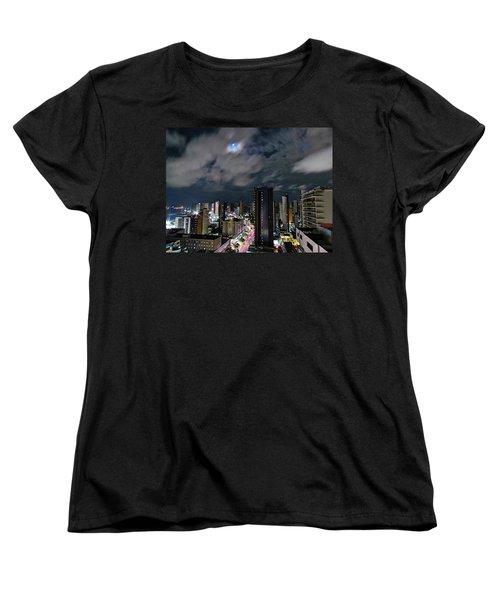 Moonlight Women's T-Shirt (Standard Cut) by Cesar Vieira