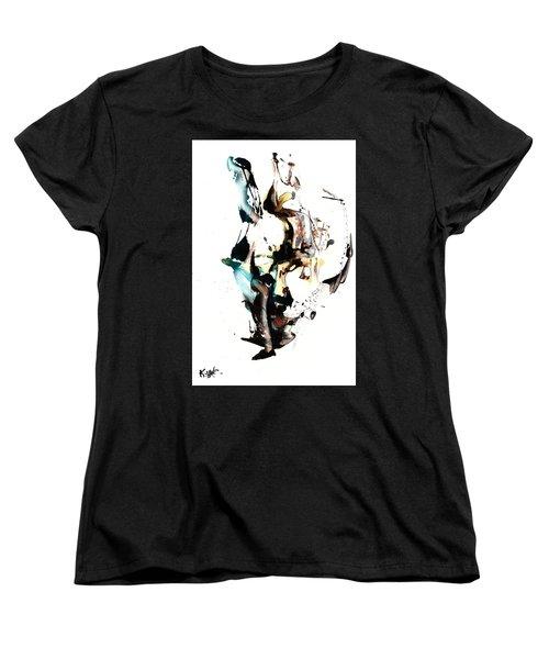 My Form Of Jazz Series 10064.102909 Women's T-Shirt (Standard Cut) by Kris Haas