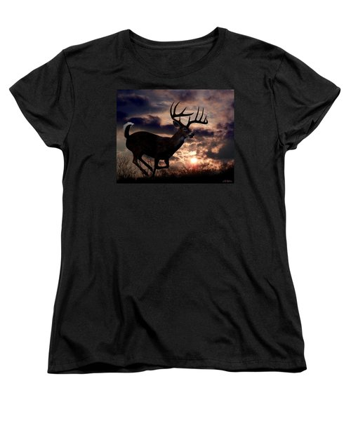 On The Run Women's T-Shirt (Standard Cut) by Bill Stephens